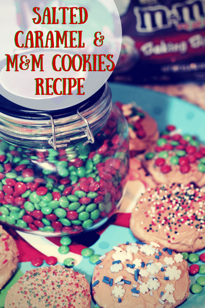 Salted Caramel & M&M Cookies Recipes