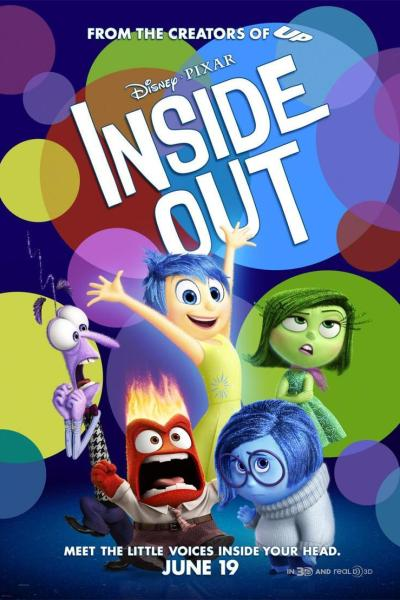 """Insider Look at """"Inside Out"""": Watch the Trailer for Disney Pixar's New Animated Film"""