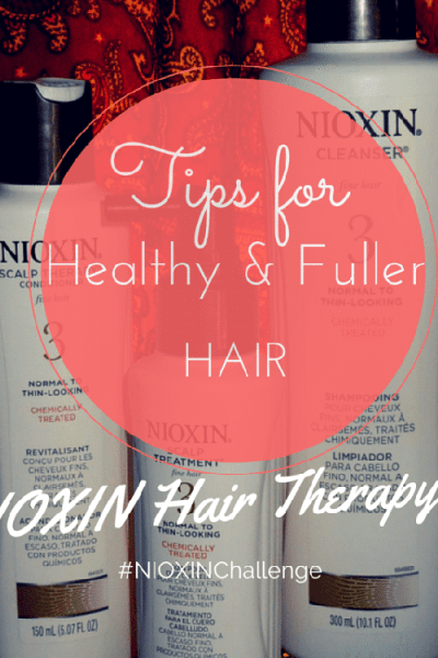 Tips for Healthy & Fuller Hair | Nioxin Hair System Kit
