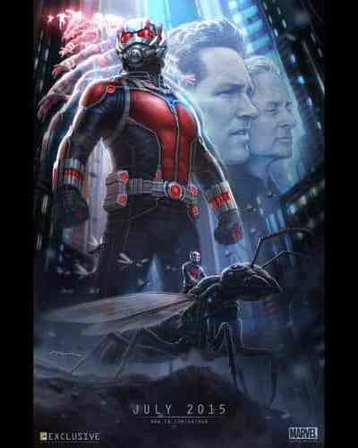 Marvel Studios Presents Ant-Man Coming This Summer!!