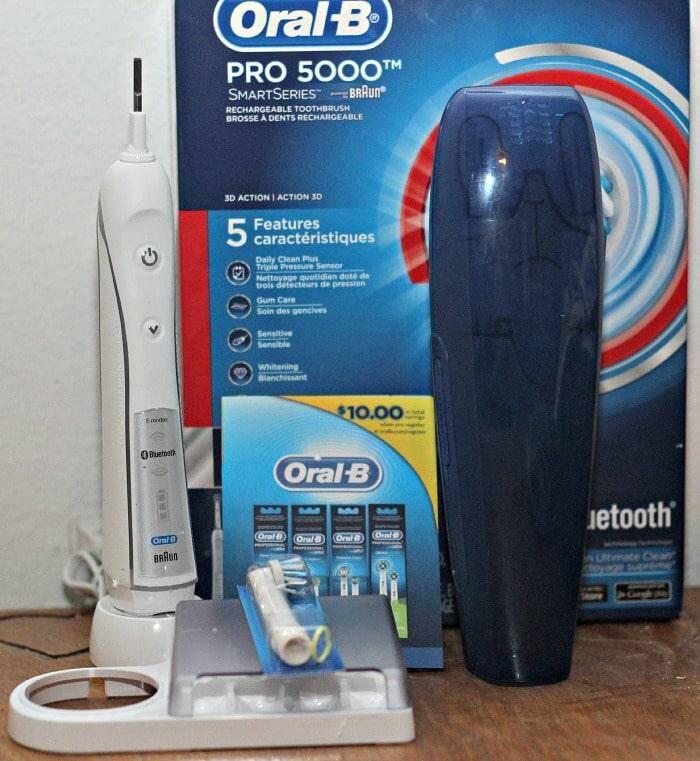 Oral b smartseries toothbrush