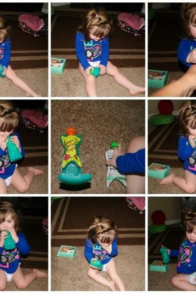 Say Goodbye To Children's Messy Food Pouches Forever!!