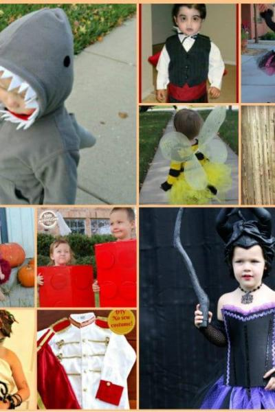 20 Easy DIY Halloween Costume Ideas for Kids
