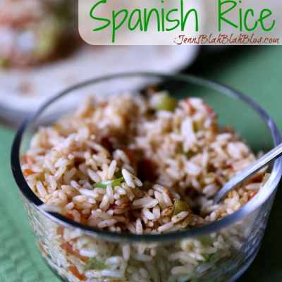 Quick and Easy Spanish Rice Recipe