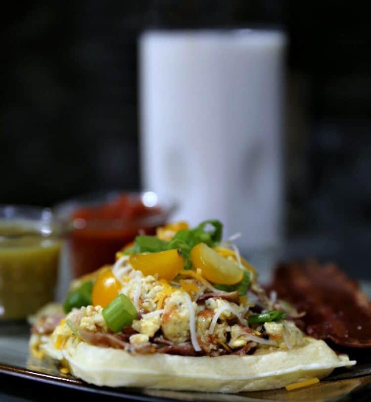 Waffle Breakfast Taco Recipe