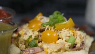 Yummy Breakfast Waffle Tacos Recipe