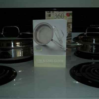 Better Tasting, More Nutritional Food with 360 Cookware #Gift Guide