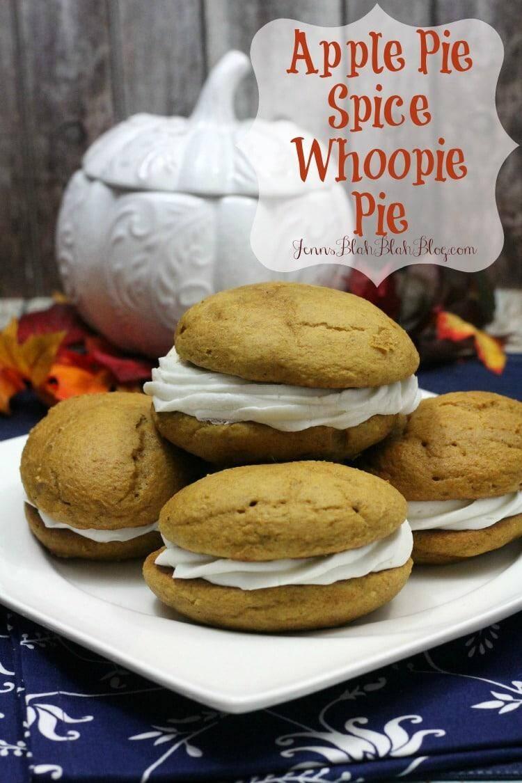Apple Pie Spice Whoopie Pie
