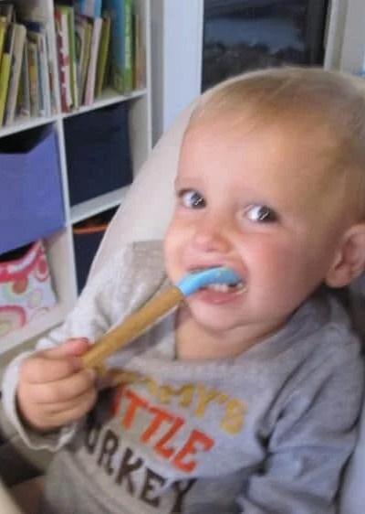 Toddler Stay Put Bamboo Bowl