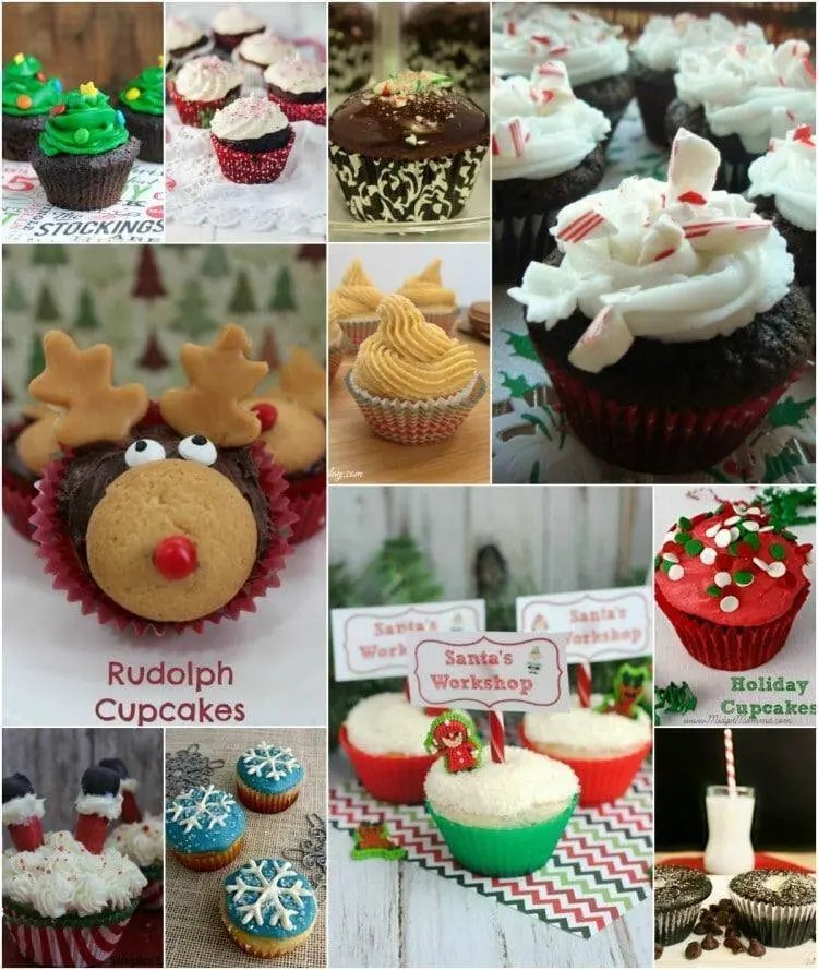 Christmas Cupcake Recipes You'll Love