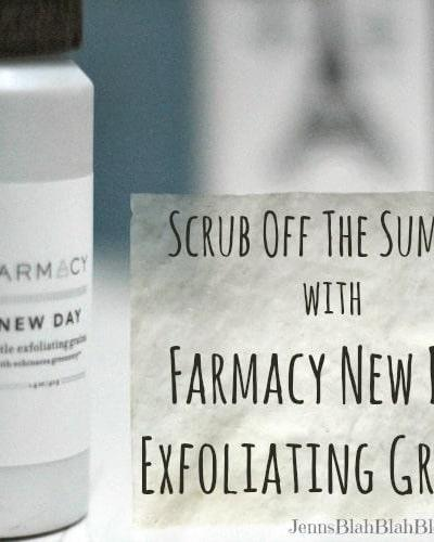 Scrub Off The Summer with Farmacy Exfoliating Grains