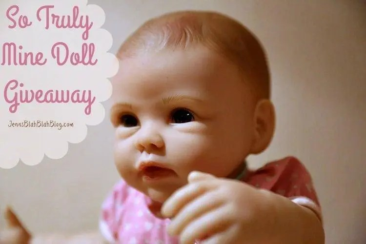 So Truly Mine Doll Giveaway on Jenns Blah Blah Blog