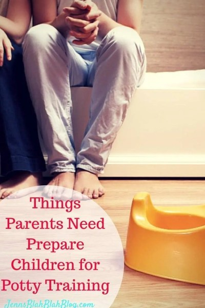 5 Things Parents Need Prepare Children for Potty Training & Giveaway!