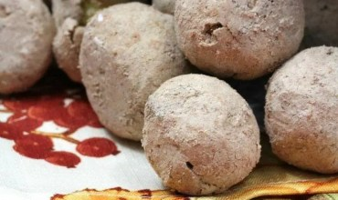 Baked Apple Spice Donut Holes & Chocolate Covered Pretzels