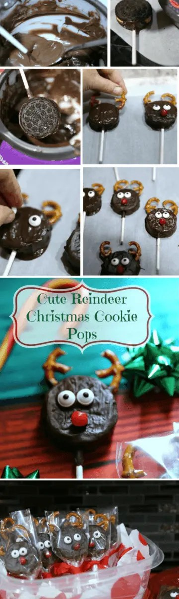 how to make deer cookies for christmas