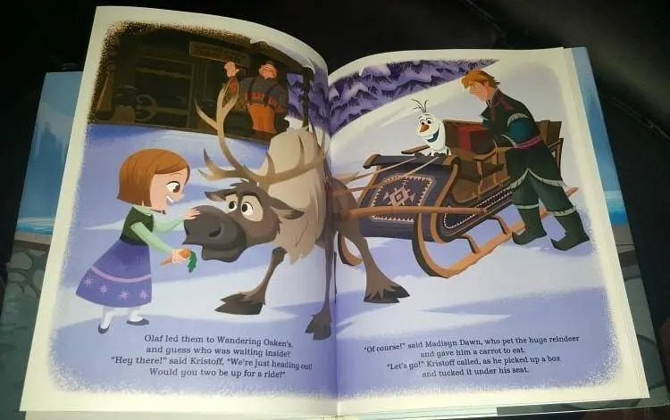 disney frozen adventure in arendelle personalized book jenns blah