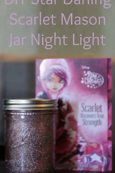 DIY Star Darling Mason Jar Night Lights + Giveaway