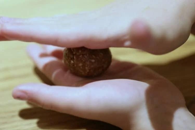 rolling breakfast cookie