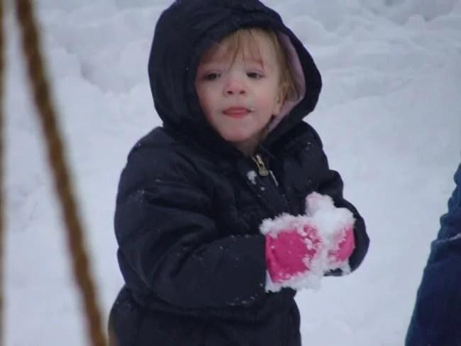 playing in snow (jenn worden0