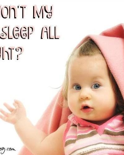 Why Won't My Toddler Sleep All Night?