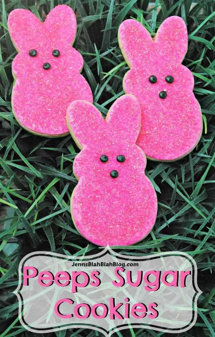 Peeps Sugar Cookies Recipe