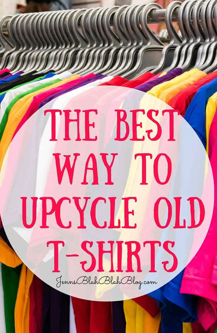 The Best Way To Upcycle Old TShirts