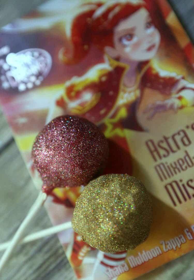 Star Darling Glitter Cake Pops