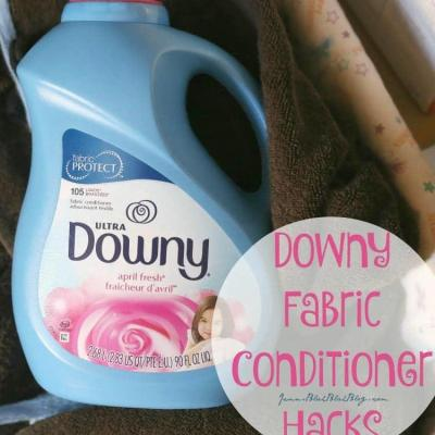 DOWNY FABRIC CONDITIONER HACKS THAT SAVE MONEY