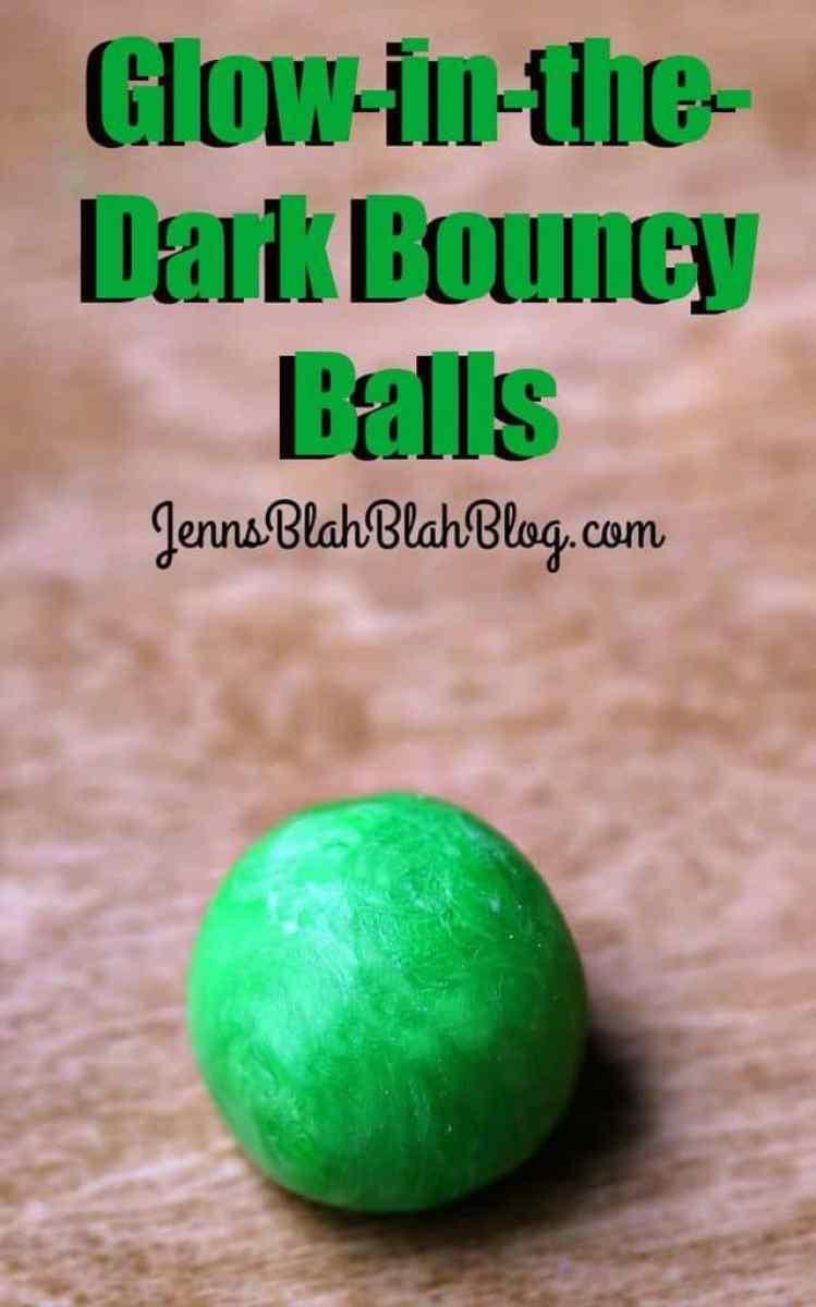 Glow-in-the-Dark Bouncy Balls
