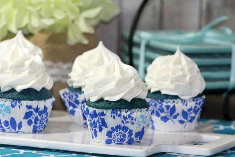Blue Curacao Cupcakes 4