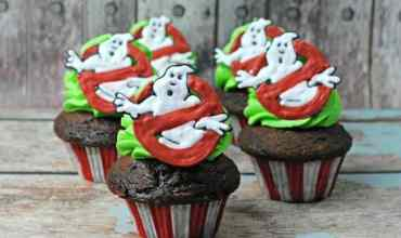 Ghost Busters Cupcakes