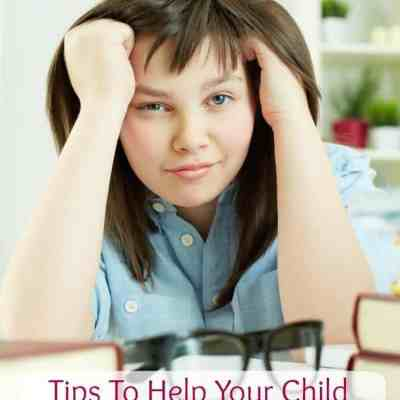 Tips for Parents to Help Your Middle School Child Succeed | Big Fat Notebook Giveaway