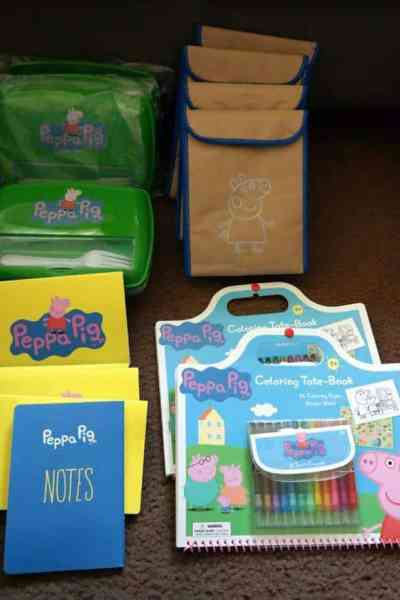 Peppa Pig Summer Backpack Packing Party Supplies & New DVD!