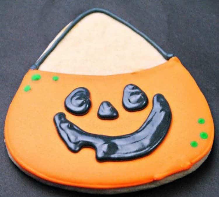 Cute Pumpkin Cookie Bag Cookies 1