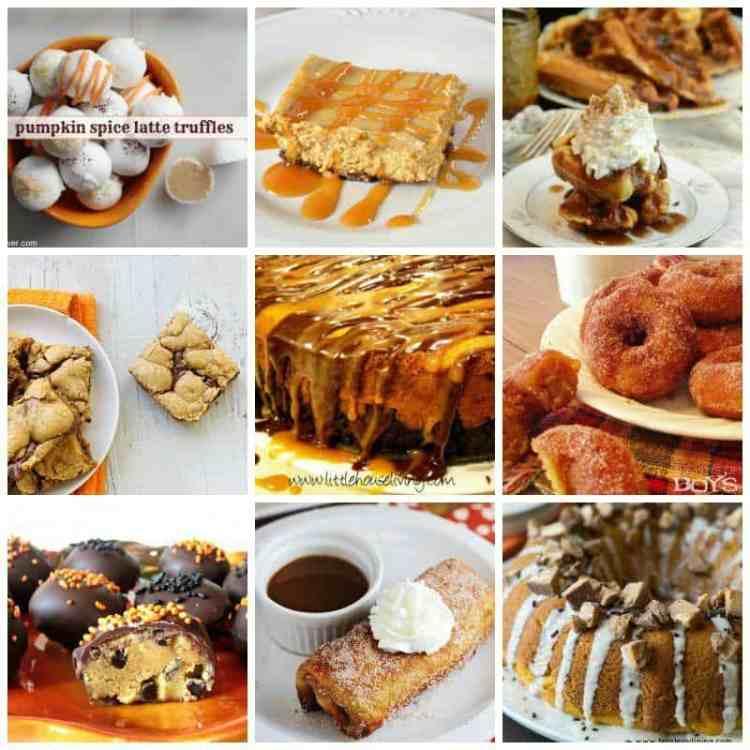 20 Sweet Treats & Desserts with Pumpkin
