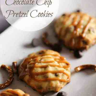 Make It Yours™ Caramel-Stuffed Cookies w/ Chocolate Chip & Pretzel Mix-ins