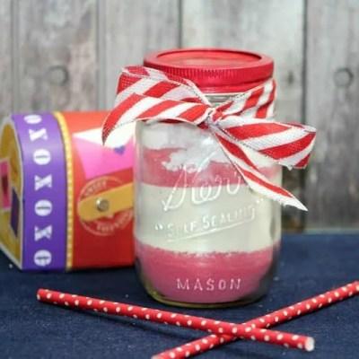 Mason Jar Strawberry Cocoa Recipe