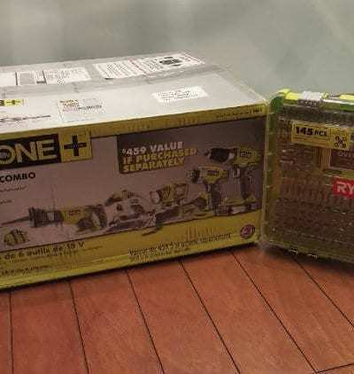 Go the RYOBI 18V ONE+ Route for all those Repair Projects #Gift Guide