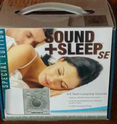 Sleep Better. No Prescription Necessary with the Adaptive Sound Sleep Therapy System #Gift Guide