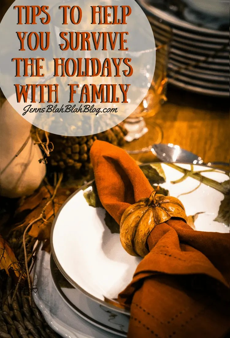 Tips To Help You Survive The Holidays With Family