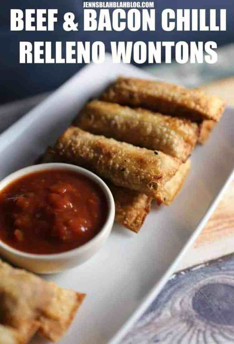BEEF & BACON CHILLI RELLENO WONTONS