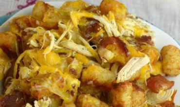 Chicken Bacon Ranch Tater Tots!