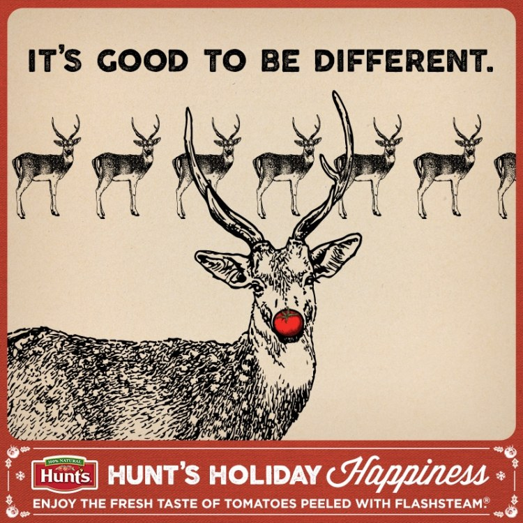 Hunt's Christmas CArds