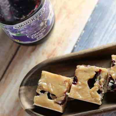 Aunt Nancy's Peanut Butter & Jelly Fudge
