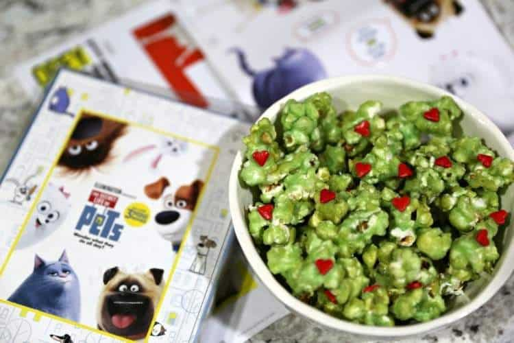 grinch popcorn and pets family movie night