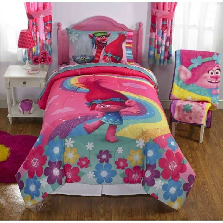 trolls bedroom set