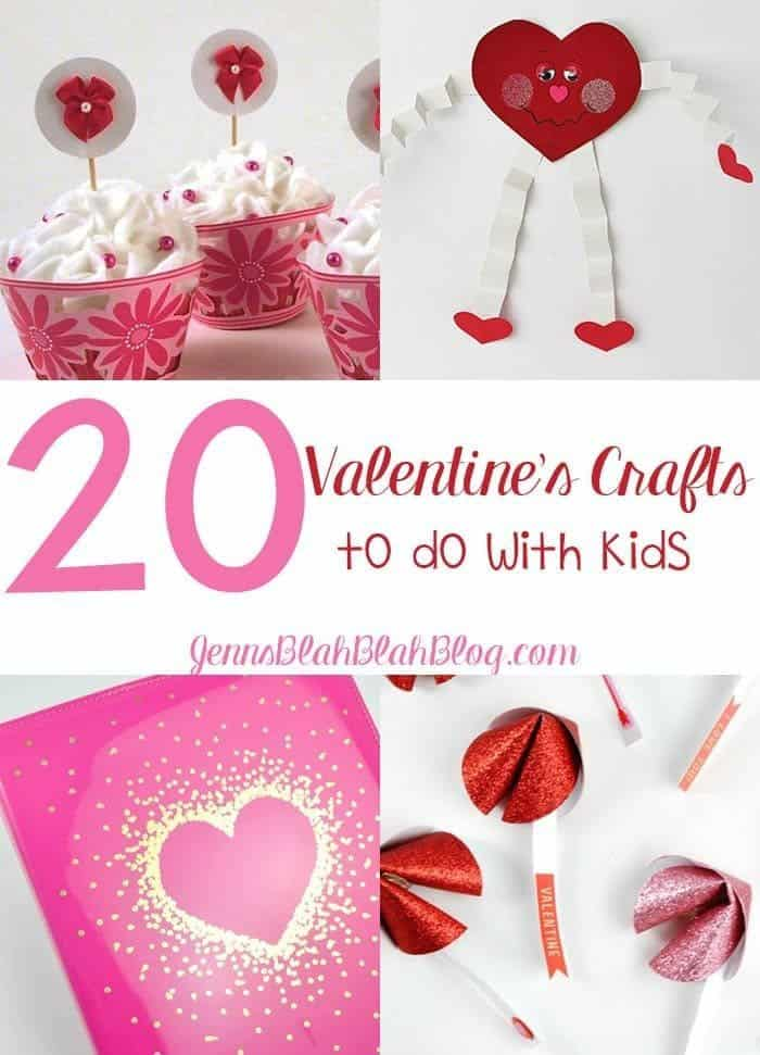 Valentine's Crafts To Do With Kids