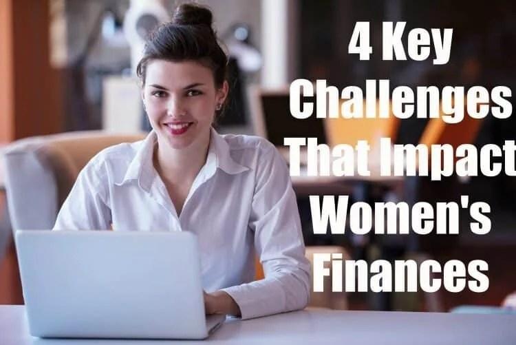 4 key challenges that impact women's finances