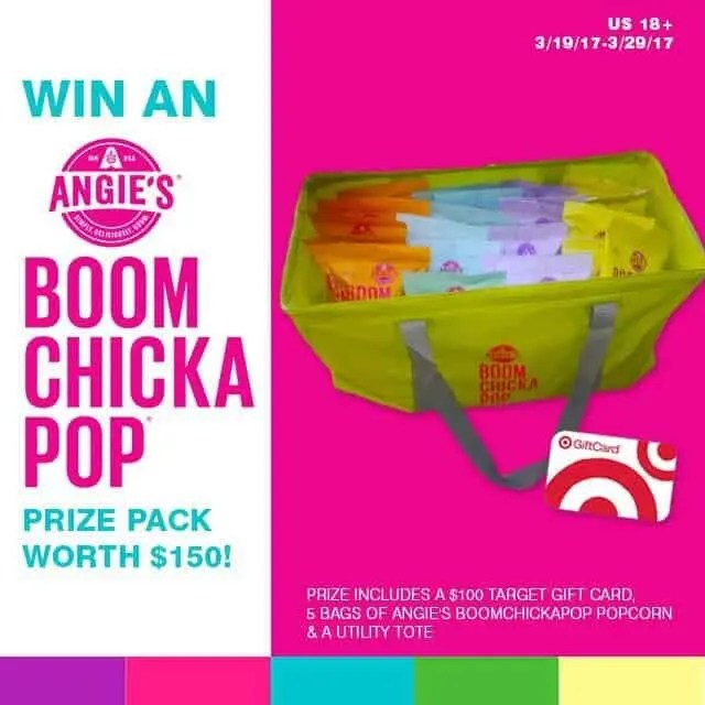 BoomChickaPop Popcorn Giftcard GiveAway