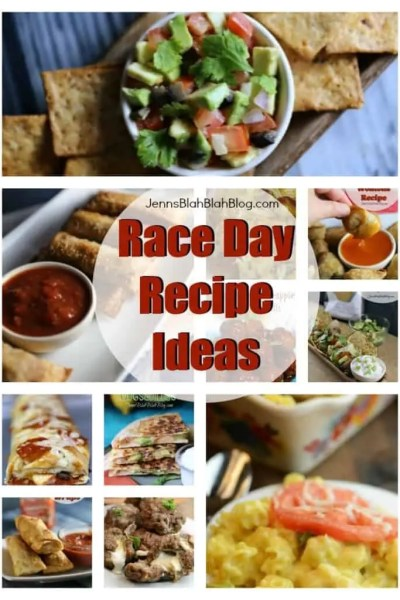 A Few Great Race Day Recipe Ideas